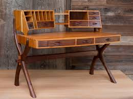 Small Cherry Writing Desk by Fine Furniture Geronimo Woodworks