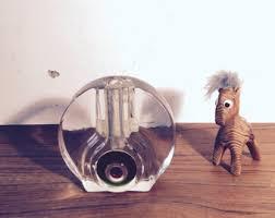 Single Stem Glass Vase Walther Glass Vase Etsy