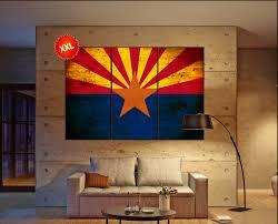Az State Flag Arizona State Flag Canvas Arizona State Flag Wall Decoration