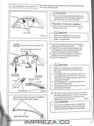 subaru emblem drawing fitting genuine subaru wind deflectors jay u0027s subaru impreza wrx