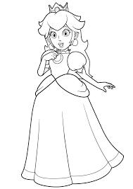 printable princess coloring pages 441 princess printable