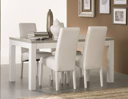 chaises salle manger design chaise salle a manger blanche galerie avec table de salle a manger
