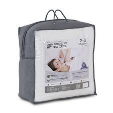 Goose Down Feather Bed Topper Amazon Com Furinno Angeland Ultra Plush Microfiber Alternative