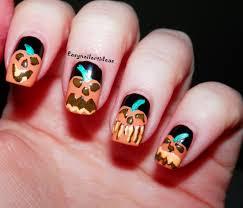 easy nail art and make up ideas october 2014