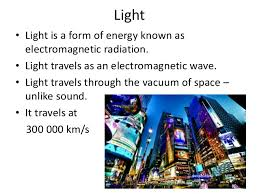 is light a form of energy light light is a form of energy known as electromagnetic radiation
