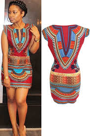 tribal dress new fashion style women summer dress aztec
