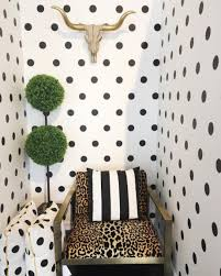 Polka Dot Wallpaper Polka Dot Wallpaper Wallpaper Powder Room And Apartments