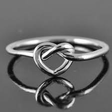 knot promise ring infinity ring beauty friend rings jewelry