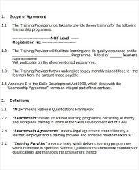 9 service level agreement templates free word pdf documents