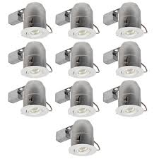 10 inch round recessed light trim globe electric 6 in white round recessed lighting kit 10 pack