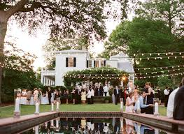 Backyard Wedding Lighting Ideas Backyard Party Ideas For Your Lovely Wedding Party U2013 Bridalore