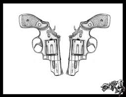 gun by loneuglyfish on deviantart