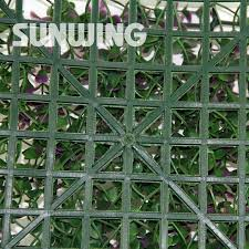 12pcs 50x50cm uv artificial outdoor fence plastic fencing