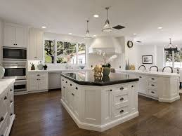 White Kitchen Granite Ideas by Kitchen Cabinets Stunning Classic Black And White Kitchen