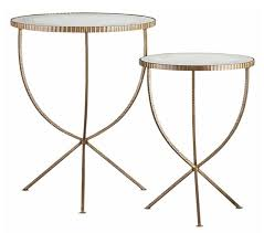 gold metal side table the newlywed diaries inspired by small metal side tables