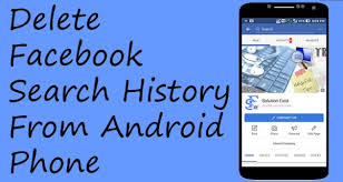 delete search history android how to delete search history from android app