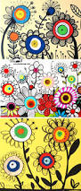 krokotak how to draw flowers