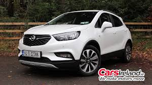 opel mokka interior 2017 opel mokka x video review carsireland ie carsireland ie reviews