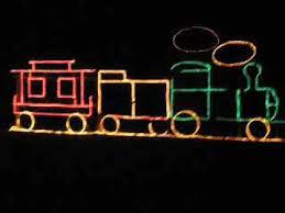 how to build a christmas light train youtube