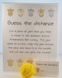 baby shower guessing baby shower guess the distance measure s tummy