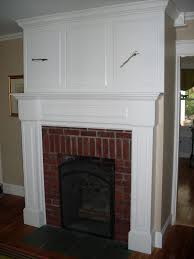 custom fireplace mantel