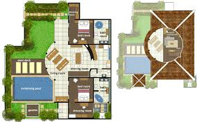 villa floor plan brilliant villa floor plans abadi villas 2 two bedroom villa faun