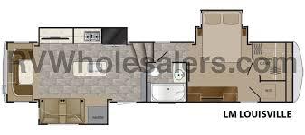 Fifth Wheel Floor Plans Heartland Rv Landmark 365 Fifth Wheel Floorplans The Real Rv