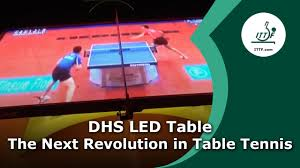 Dhs Table Tennis by Dhs Led Table The Next Revolution In Table Tennis Youtube
