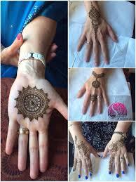 unique henna design mandala simple bale designs by