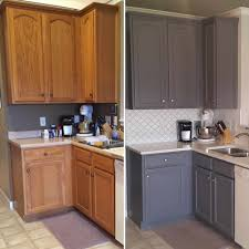 painted white kitchen cabinets before and after caruba info