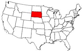 usa map south states south dakota maps map of south dakota