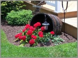 garden design garden design with half whiskey barrel planter