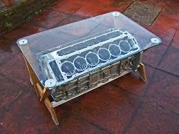 jaguar v12 coffee table home stuff pinterest engine block