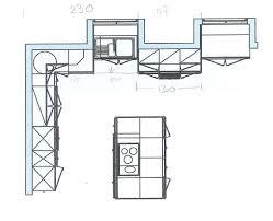 exemple plan de cuisine exemple plan de cuisine finest plan de travail profondeur source