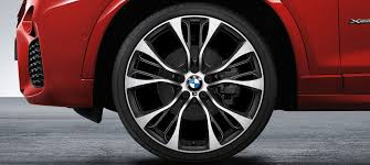 20 m light alloy double spoke wheels style 469m x series bmw x4 lines equipment bmw