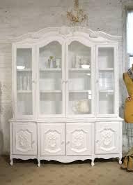 shabby chic china cabinet