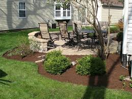 Backyard Privacy Landscaping Ideas by Exterior Natural Patio Landscaping Backyard Patio Ideas Patio