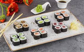 fond ecran cuisine télécharger fonds d écran sushi cuisine japonaise coquelicots