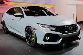 honda civic 2017 interior 2017 honda civic hatchback previewed by prototype