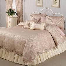 Bedding Set Queen by Chambery Romantic Fringed Comforter Bedding