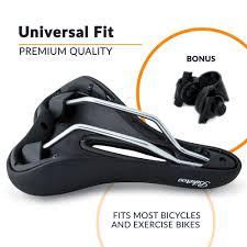 Most Comfortable Motorcycle Seat Bikeroo Comfortable Bicycle Seat For Men Men U0027s Bike Seats U0026 Saddles