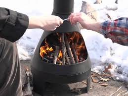 Cooking On A Chiminea Guide Gear Chiminea Grill Youtube