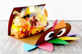 thanksgiving turkey treat bags artsy fartsy