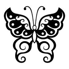 25 best butterfly stencil ideas on butterfly pattern