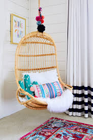 Swing Chair Bedroom Trendspotting Hanging Chairs Are Swinging Into Kids Design