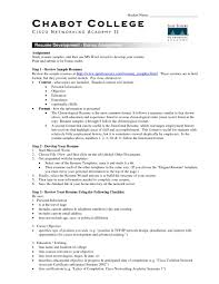 100 resume samples for students examples of college resumes