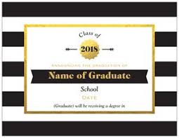 design graduation announcements cheap high school graduation announcements vistaprint