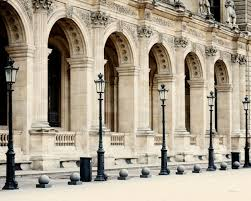 French Home Decor Paris Photography Louvre Print Parisian Architecture Photo