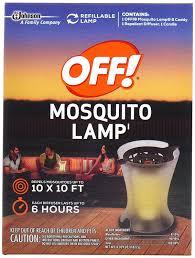 amazon com off mosquito lamp patio lawn u0026 garden