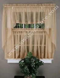 Cafe Tier Curtains Jessica Ruffled Sheer Priscilla Window Curtains Can Create That